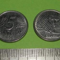 Brazilië - 5 centavos 1994