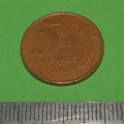 Brazilië - 5 centavos 2001