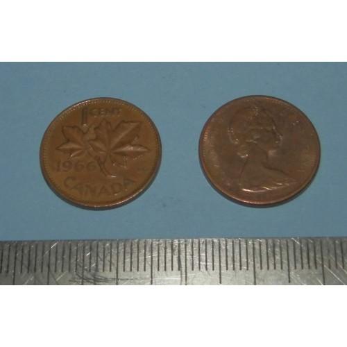 Canada - 1 cent 1966