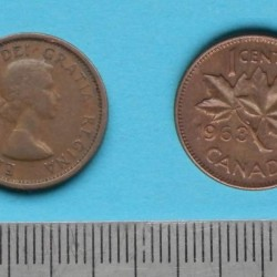 Canada - 1 cent 1963