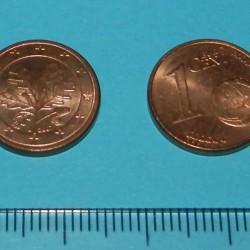 Duitsland - 1 cent 2007J