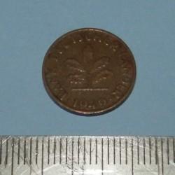 Duitsland - 1 pfennig 1949F - BDL