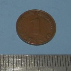 Duitsland - 1 pfennig 1949J - BDL