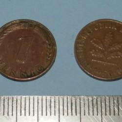 Duitsland - 1 pfennig 1950D