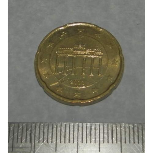 Duitsland - 20 cent 2003G