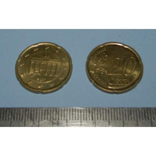 Duitsland - 20 cent 2007G