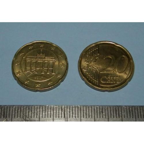 Duitsland - 20 cent 2007J