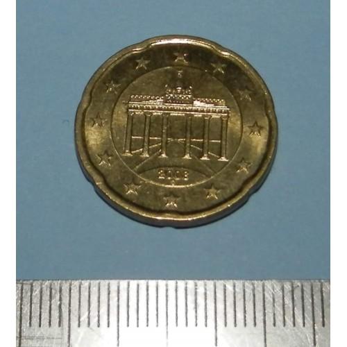 Duitsland - 20 cent 2008D