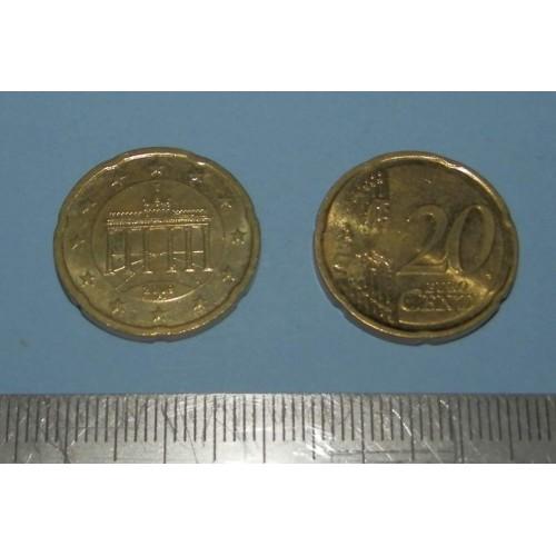 Duitsland - 20 cent 2009F