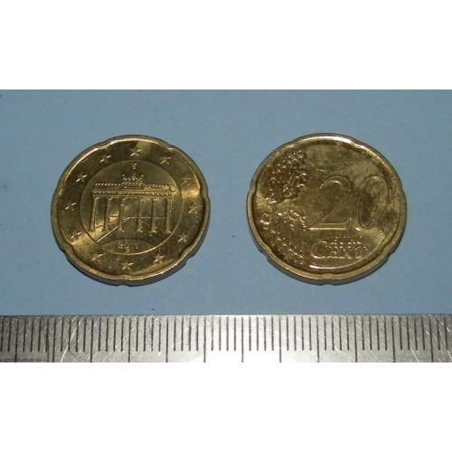 Duitsland - 20 cent 2011F