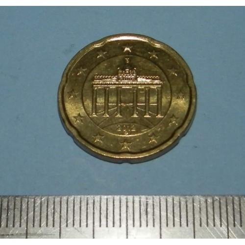 Duitsland - 20 cent 2012G