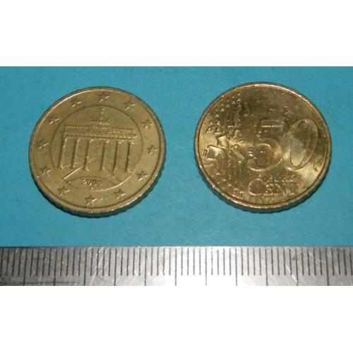 Duitsland - 50 cent 2004 F