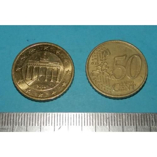 Duitsland - 50 cent 2004G