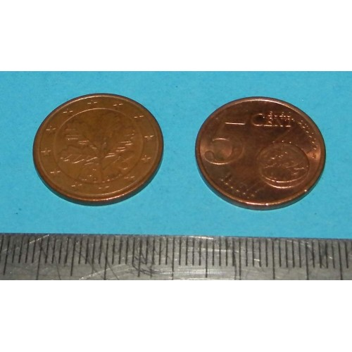 Duitsland - 5 cent 2004D