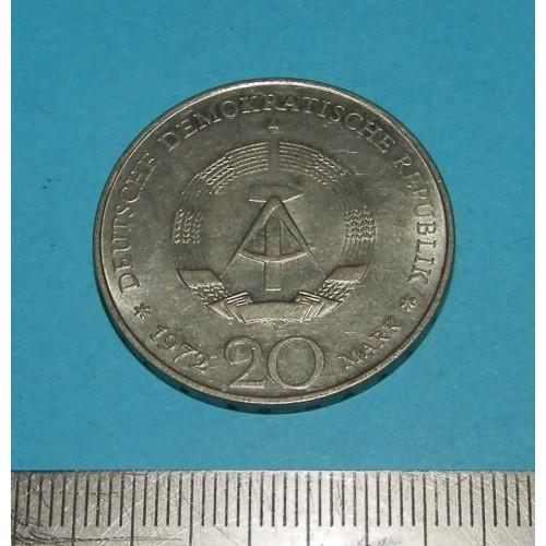 DDR - 20 mark 1972 - Pieck