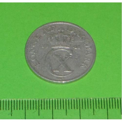 Denemarken - 5 øre 1941 - aluminium oorlogsmunt