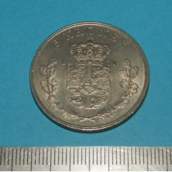 Denemarken - 5 kronen 1972