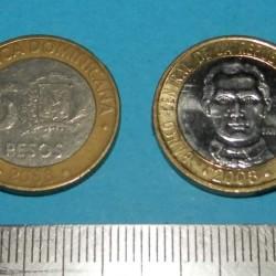 Dominicaanse Republiek - 5 pesos 2008