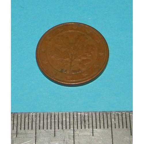 Duitsland - 5 cent 2009J