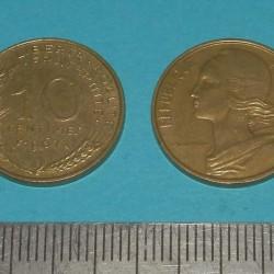 Frankrijk - 10 centimes 1967