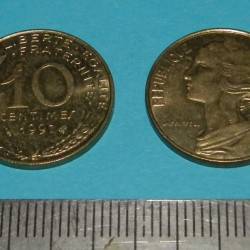 Frankrijk - 10 centimes 1997