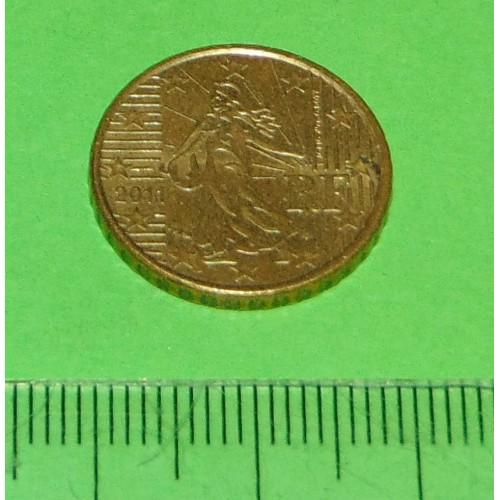 Frankrijk - 10 cent 2011