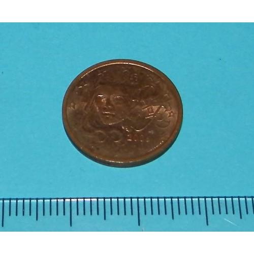 Frankrijk - 2 cent 2006.