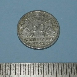 Frankrijk - 50 centimes 1942