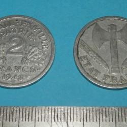 Frankrijk - 2 frank 1943