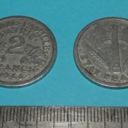 Frankrijk - 2 frank 1944