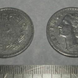 Frankrijk - 5 frank 1945