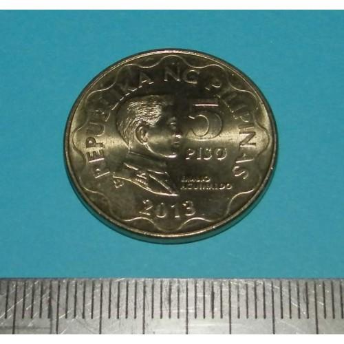 Filipijnen - 5 pesos 2013