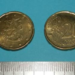Finland - 20 cent 2001