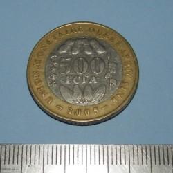 Frans West-Afrika - 500 frank 2005