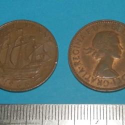 Groot-Brittannië - halve penny 1966