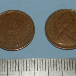 Groot-Brittannië - 1/2 penny 1971