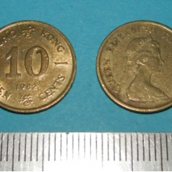 Hong Kong - 10 cent 1982