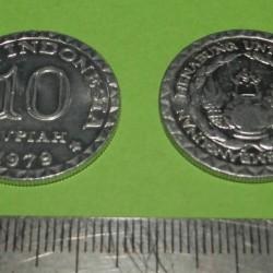 Indonesië - 10 rupiah 1979
