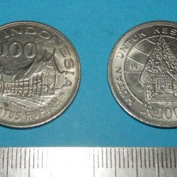 Indonesië - 100 rupiah 1978