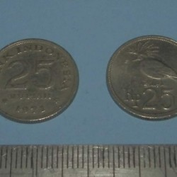 Indonesië - 25 rupiah ZF