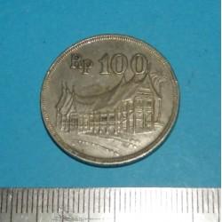 Indonesië - 100 rupiah 1973