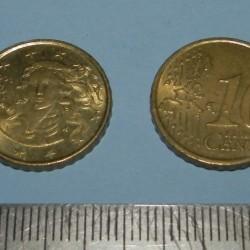 Italië - 10 cent 2005