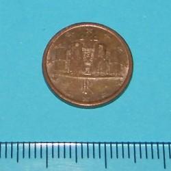 Italië - 1 cent 2002