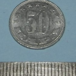 Joegoslavië - 50 para 1953