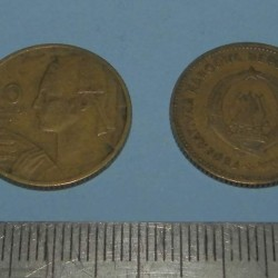 Joegoslavië - 10 dinar 1955
