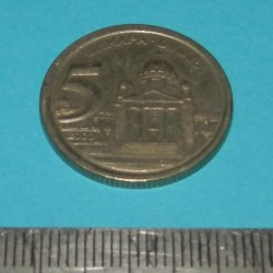 Joegoslavië - 5 dinar 2000