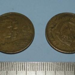 Joegoslavië - 50 dinar 1955