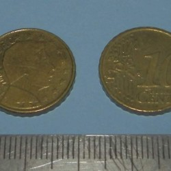 Luxemburg - 20 cent 2002