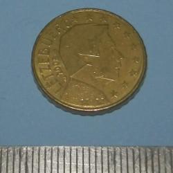 Luxemburg - 10 cent 2008