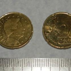 Luxemburg - 20 cent 2004